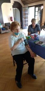 2020.09.10. Szentlőrinc - Kardiovasculáris szűrés Idősek Otthonában #3
