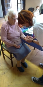 2020.09.10. Szentlőrinc - Kardiovasculáris szűrés Idősek Otthonában #4