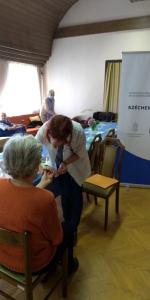 2020.09.10. Szentlőrinc - Kardiovasculáris szűrés Idősek Otthonában #2