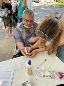 2021.06.18. Pécs - Ingyenes egészségnap a pécsi Diána téri kispiacnál #2