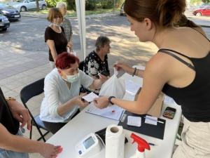 2021.06.18. Pécs - Ingyenes egészségnap a pécsi Diána téri kispiacnál #5