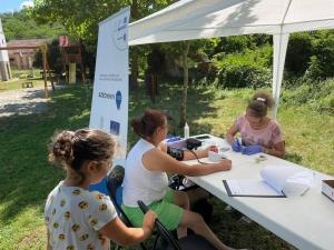 2021.06.26. Dinnyeberki - Szűrés és egyéni tanácsadás szülőknek és gyerekeknek a Dinnyeberki utó-gyereknapon #2