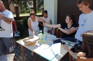 2021.06.26. Helesfa - Érték az egészség - Népegészségügyi szűrés a Helesfai gyereknapon #2