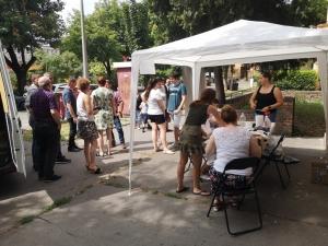 2021.06.29. Pécs - Tanácsadással egybekötött szűrés a pécsi Köztársaság téren #4