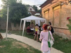 2021.06.30. Pécs - Dietetikai tanácsadással egybekötött szűrés és kóstoltatás Borbálatelepen #2