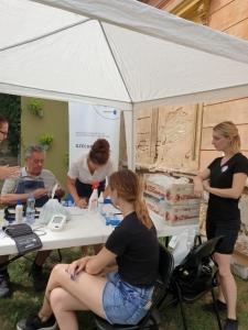 2021.06.30. Pécs - Dietetikai tanácsadással egybekötött szűrés és kóstoltatás Borbálatelepen #1