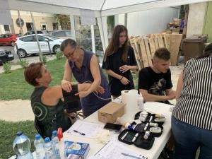2021.06.30. Pécs - Dietetikai tanácsadással egybekötött szűrés és kóstoltatás Borbálatelepen #3